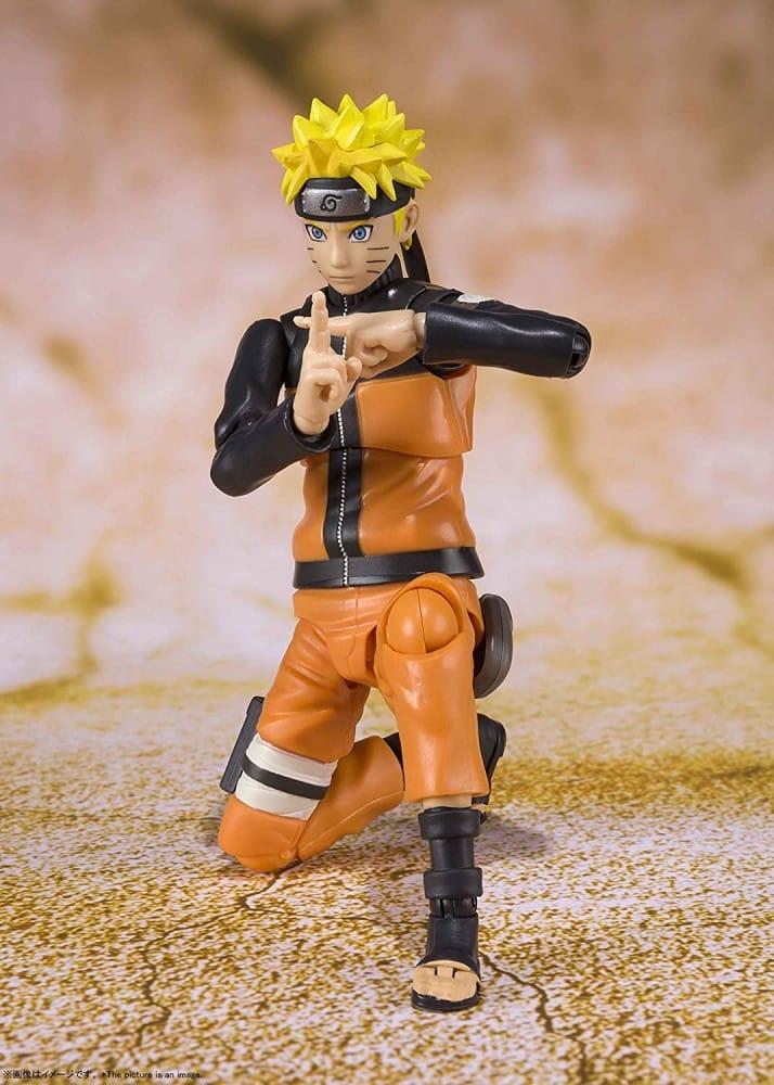 Naruto Uzumaki S.H. Figuarts (Best Selection) Pose 2