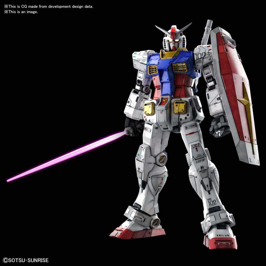 Perfect Grade UNLEASHED RX-78-2 Gundam Pose 1