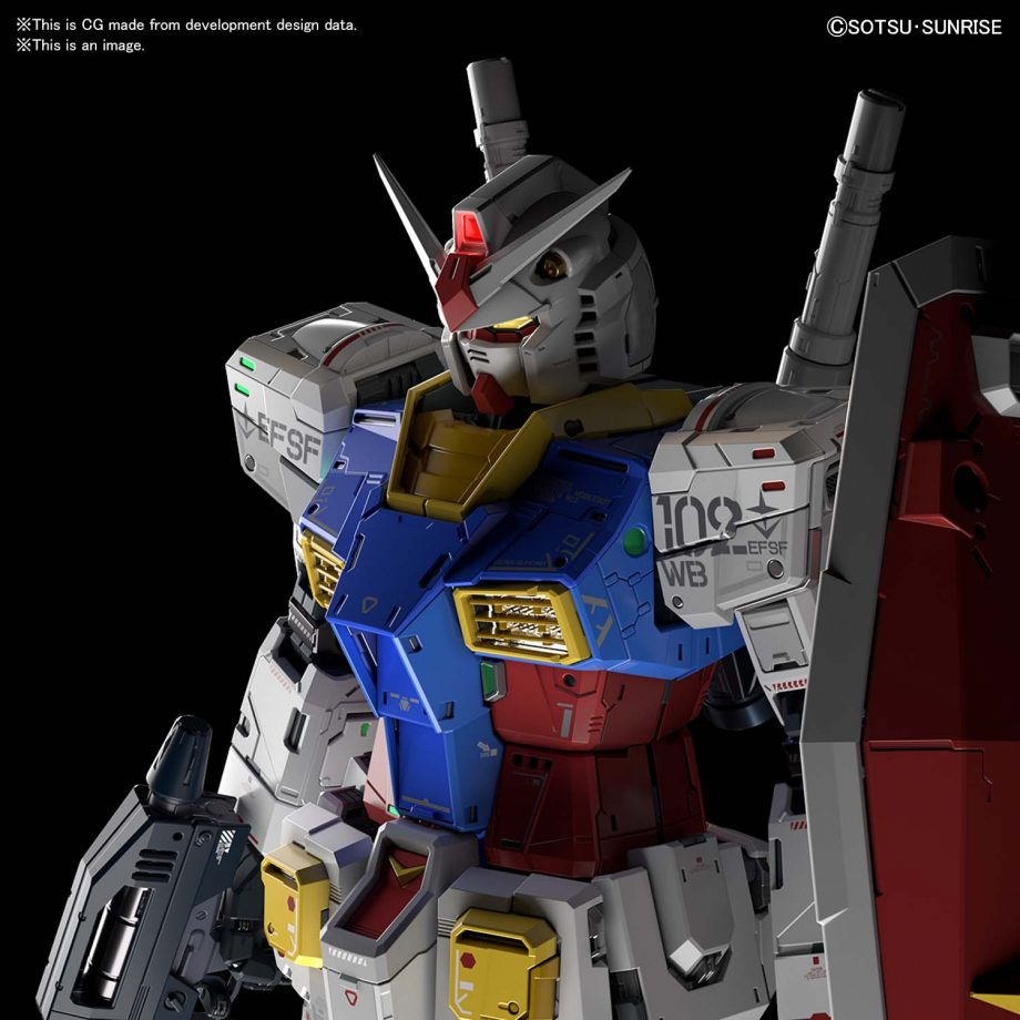 Perfect Grade UNLEASHED RX-78-2 Gundam Pose 2