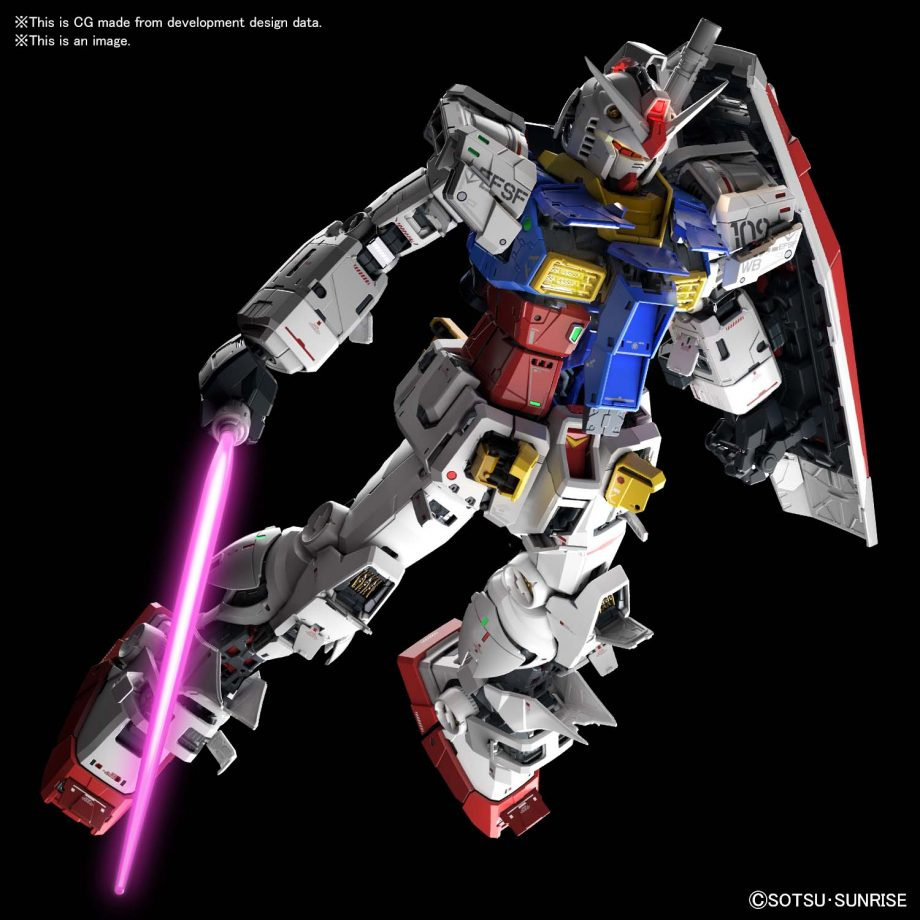 Perfect Grade UNLEASHED RX-78-2 Gundam Pose 3