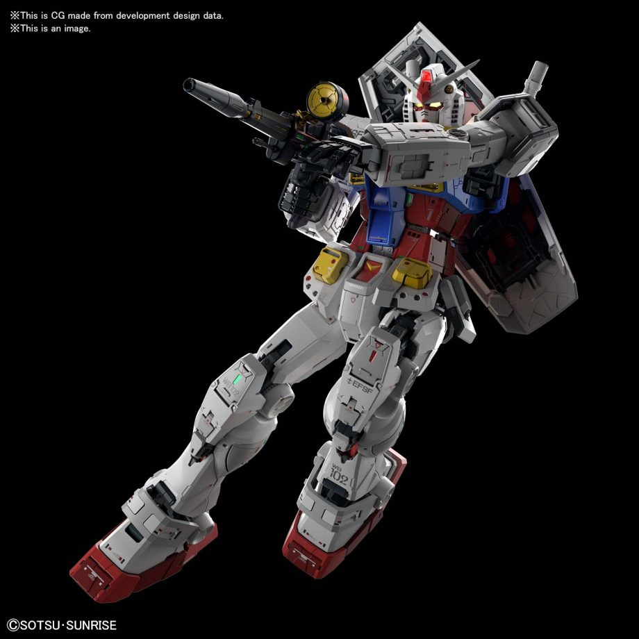 Perfect Grade UNLEASHED RX-78-2 Gundam Pose 4