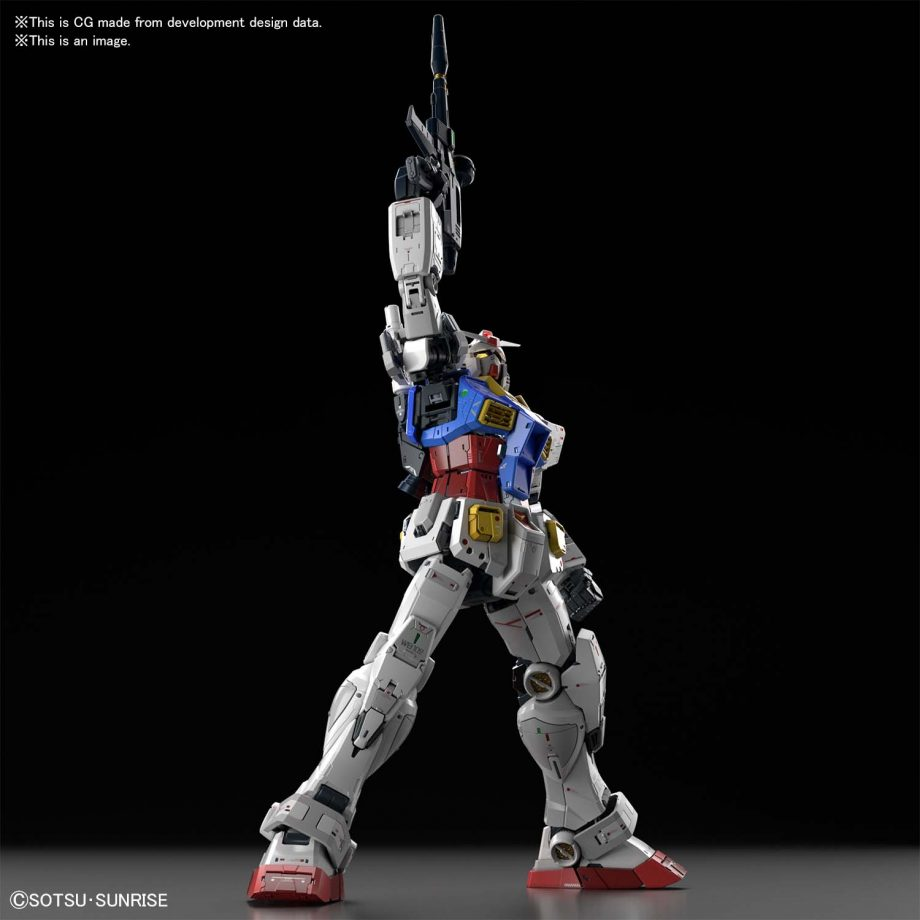 Perfect Grade UNLEASHED RX-78-2 Gundam Pose 5