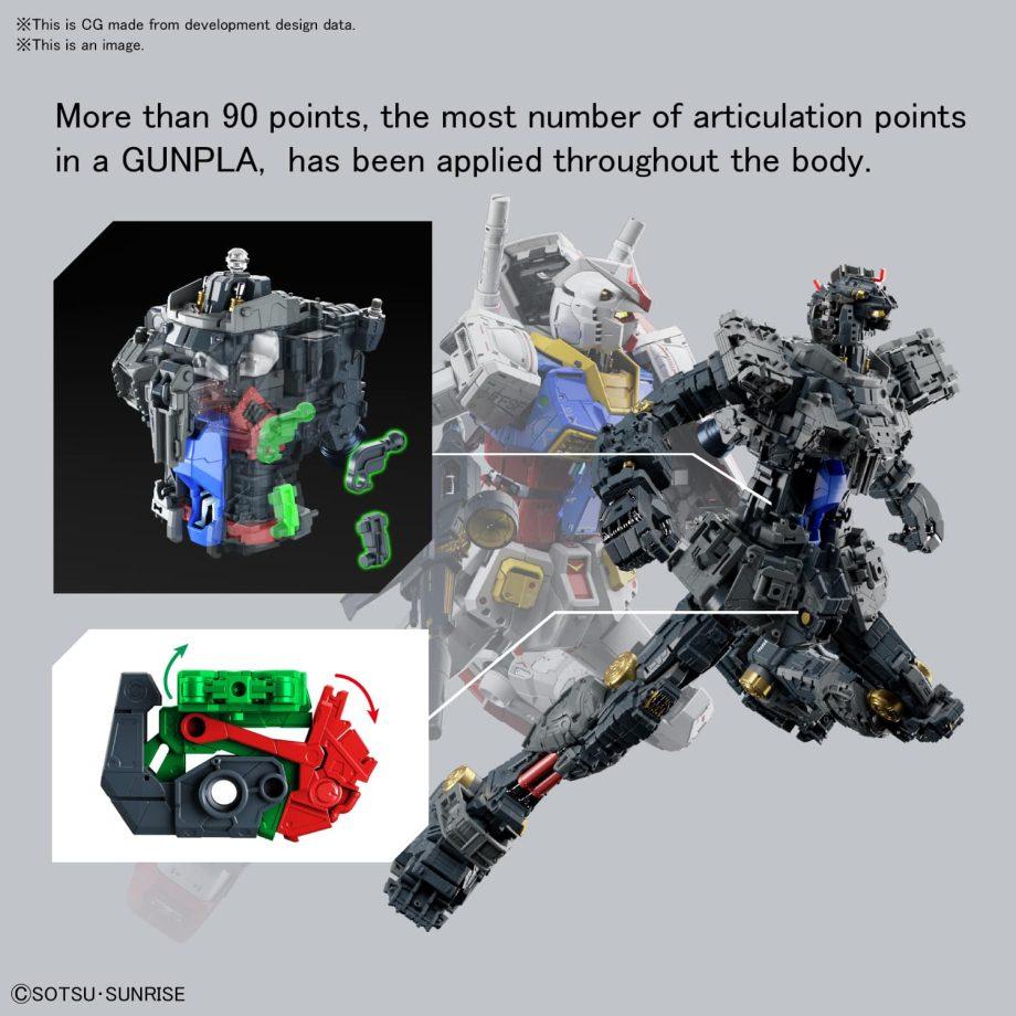 Perfect Grade UNLEASHED RX-78-2 Gundam Pose 11