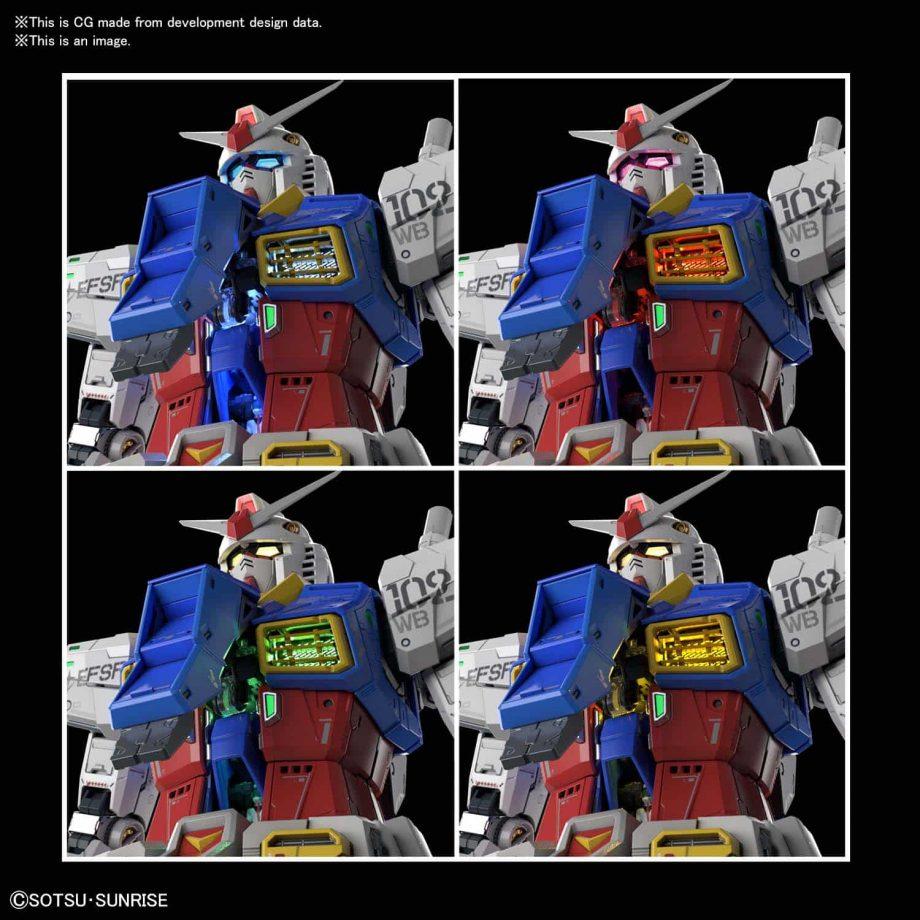 Perfect Grade UNLEASHED RX-78-2 Gundam Pose 9