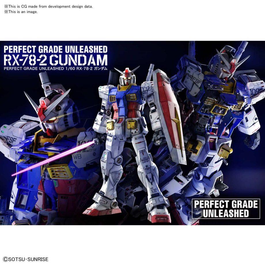 Perfect Grade UNLEASHED RX-78-2 Gundam Pose 10