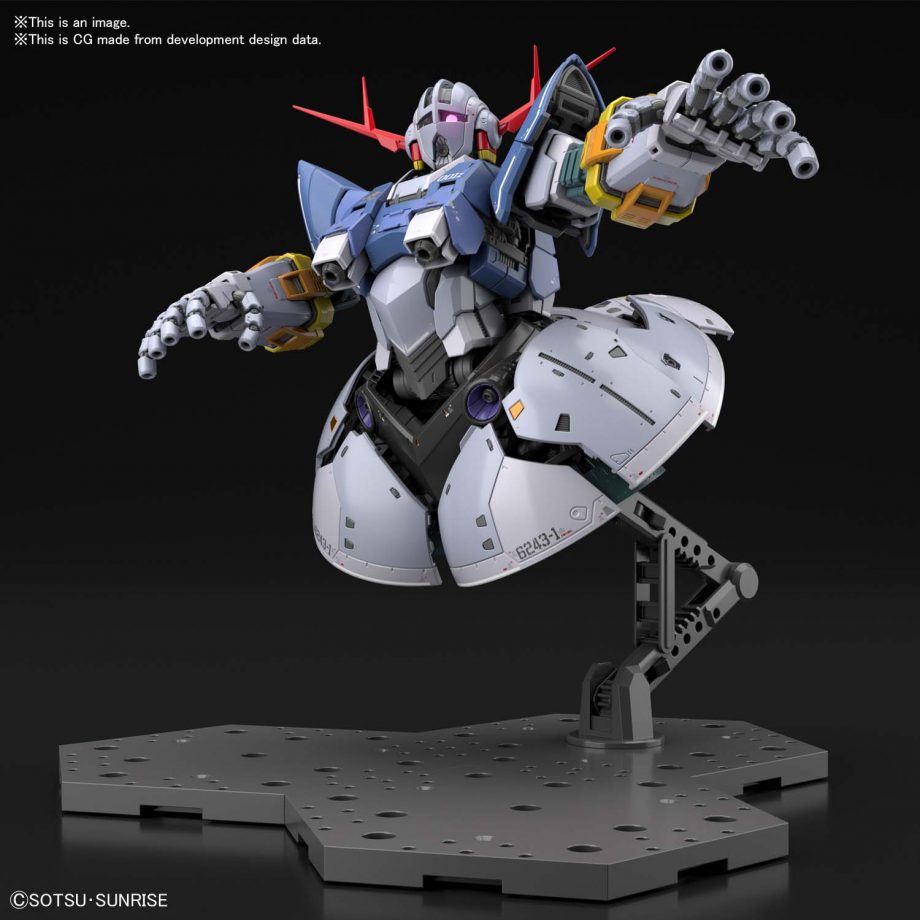 1/144 Real Grade Last Shooting Zeong Effect Set Pose 5
