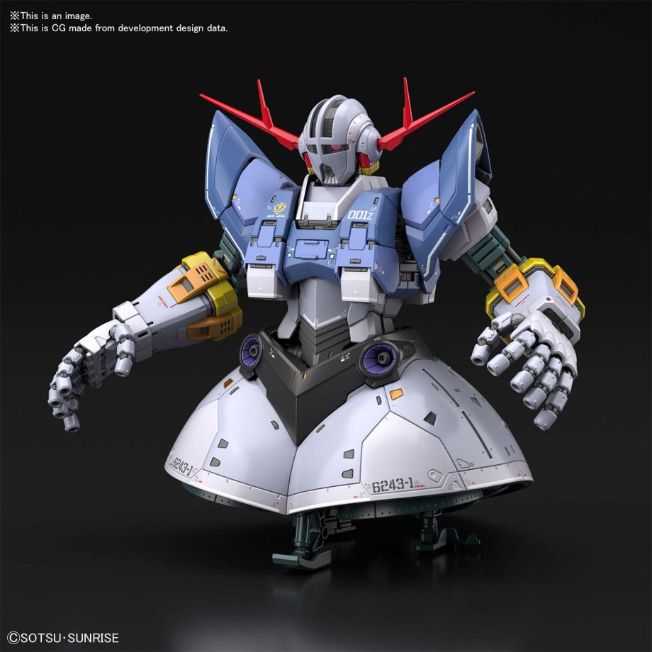 1/144 Real Grade Last Shooting Zeong Effect Set Pose 3