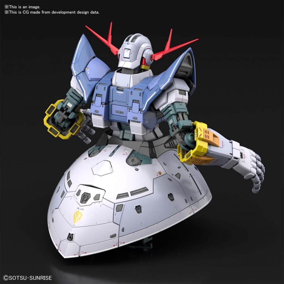 1/144 Real Grade Last Shooting Zeong Effect Set Pose 4
