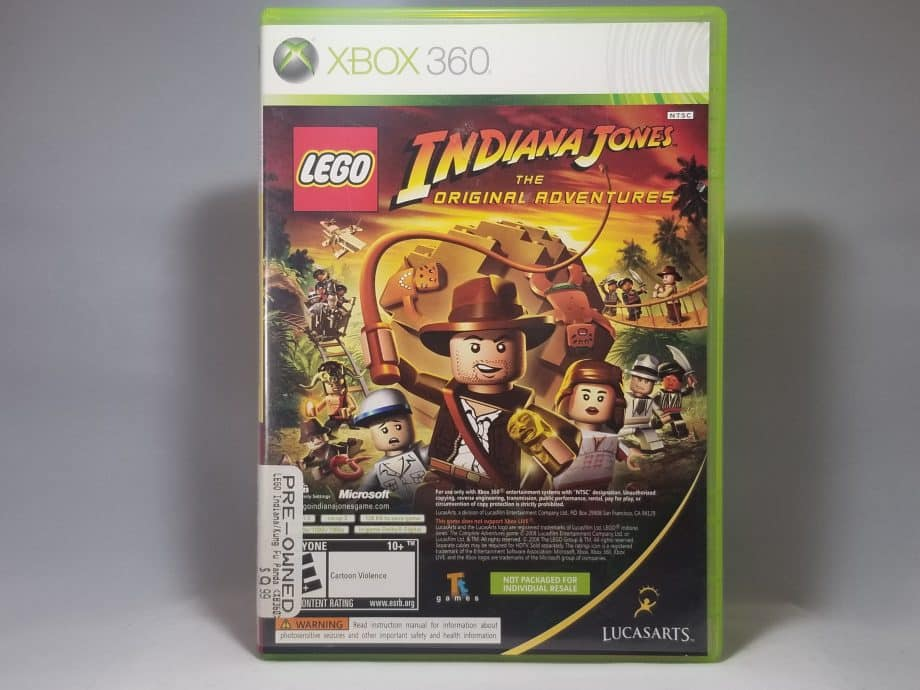 Lego Indiana Jones and Kung Fu Panda Dual Pack Front