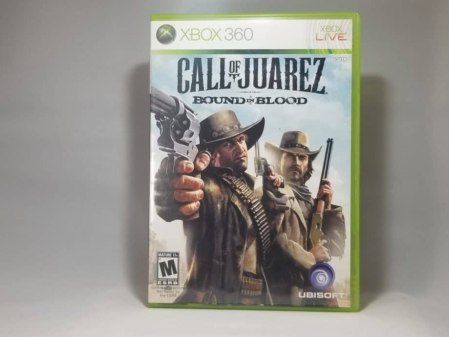 Call Of Juarez Bound In Blood Front