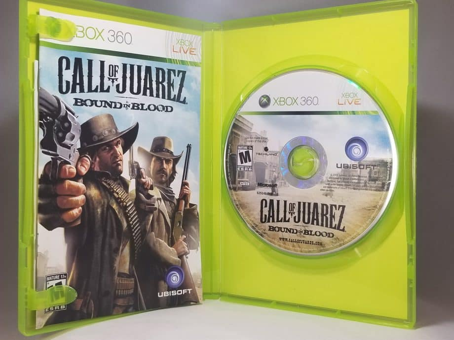 Call Of Juarez Bound In Blood Disc