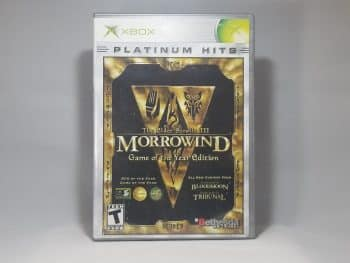 The Elder Scrolls III Morrowind Front