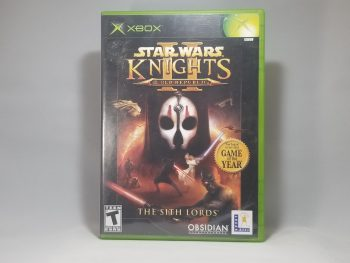 Star Wars Knights Of The Old Republic II Front