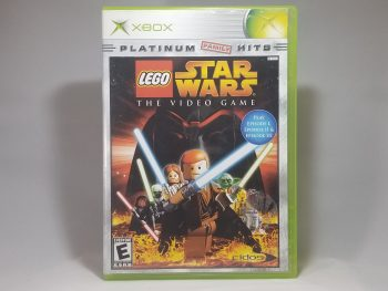 Lego Star Wars The Video Game Front
