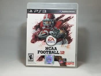 NCAA Football 12 Front