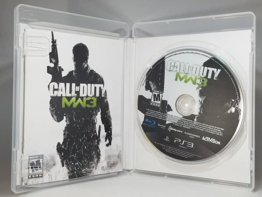 Call Of Duty Modern Warfare 3 Disc