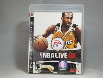 NBA Live 08 Front