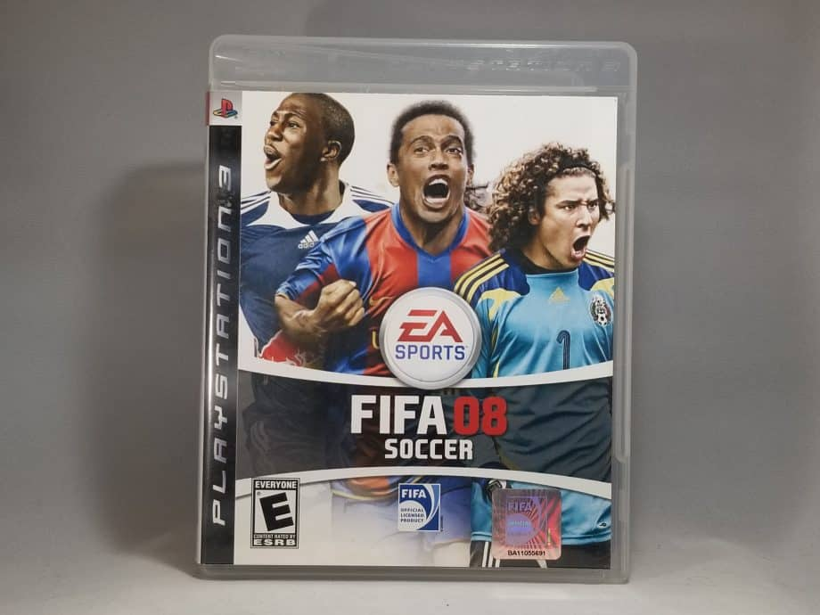 Fifa Soccer 08 Front