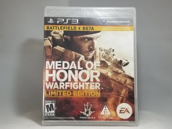 Medal Of Honor Warfighter Limited Edition Front