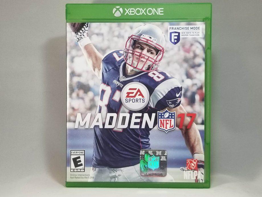 Madden NFL 17 Front