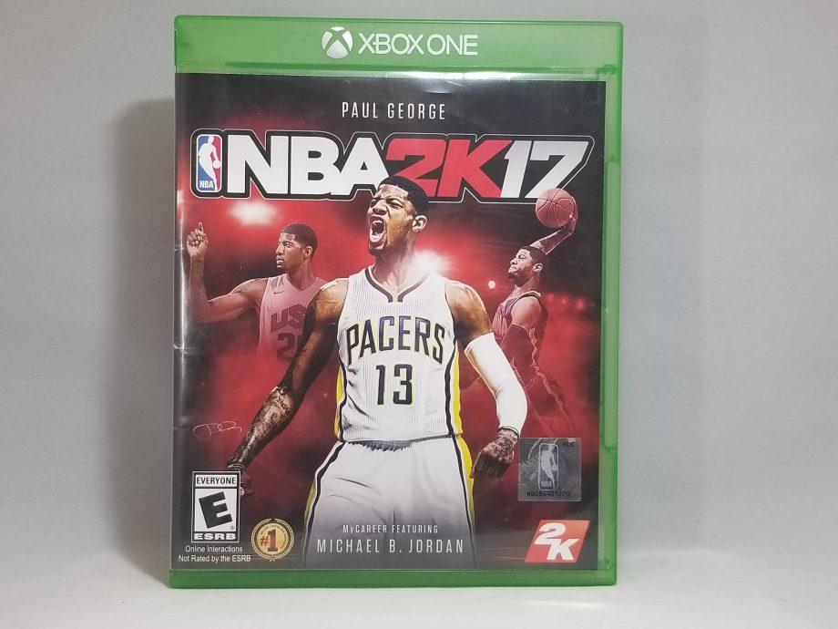 NBA 2k17 Front