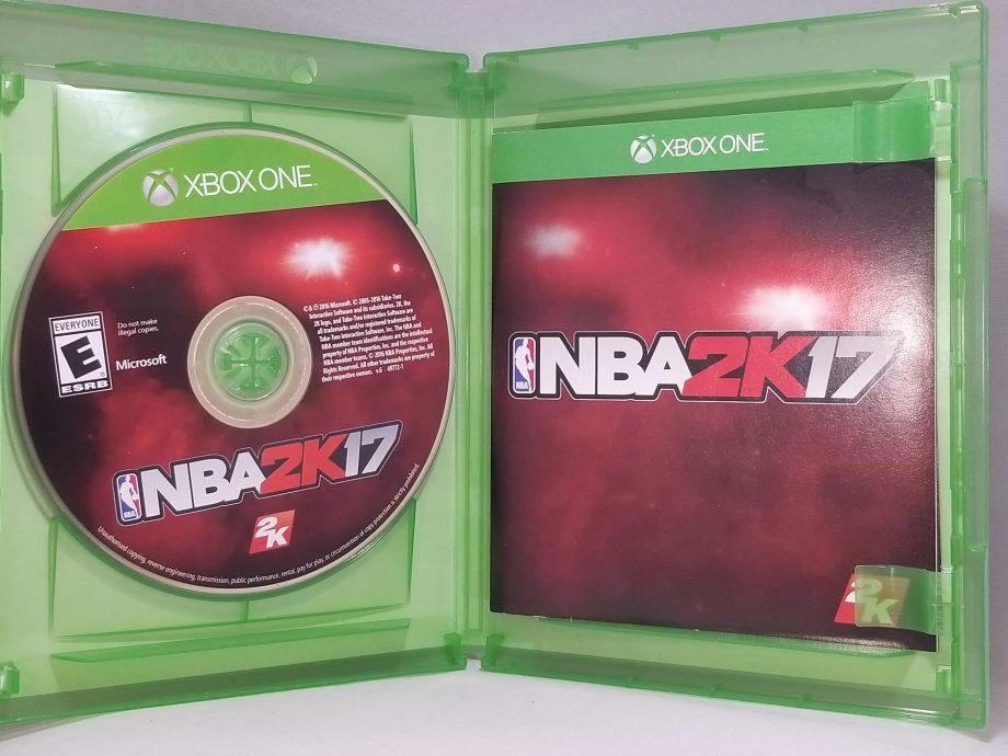 NBA 2k17 Disc
