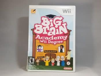 Big Brain Academy Wii Degree Front