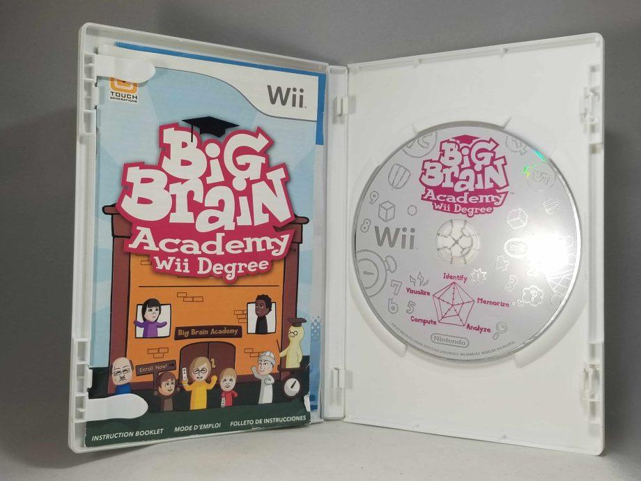 Big Brain Academy Wii Degree Disc