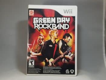 Green Day Rock Band Front