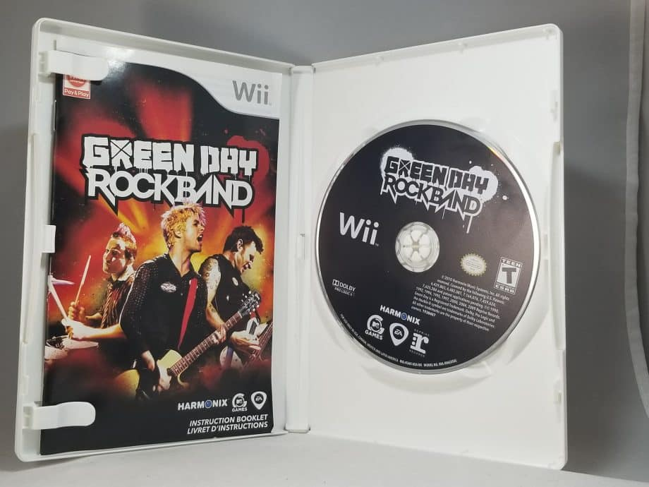 Green Day Rock Band Disc