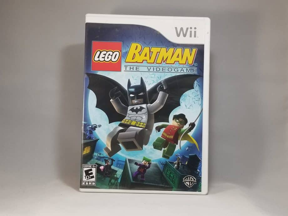 Lego Batman The Video Game Front
