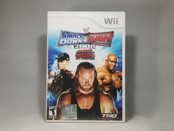 WWE SmackDown VS Raw 2008 Front