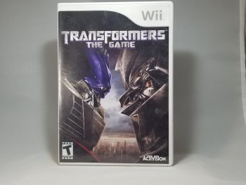 Transformers The Game Front