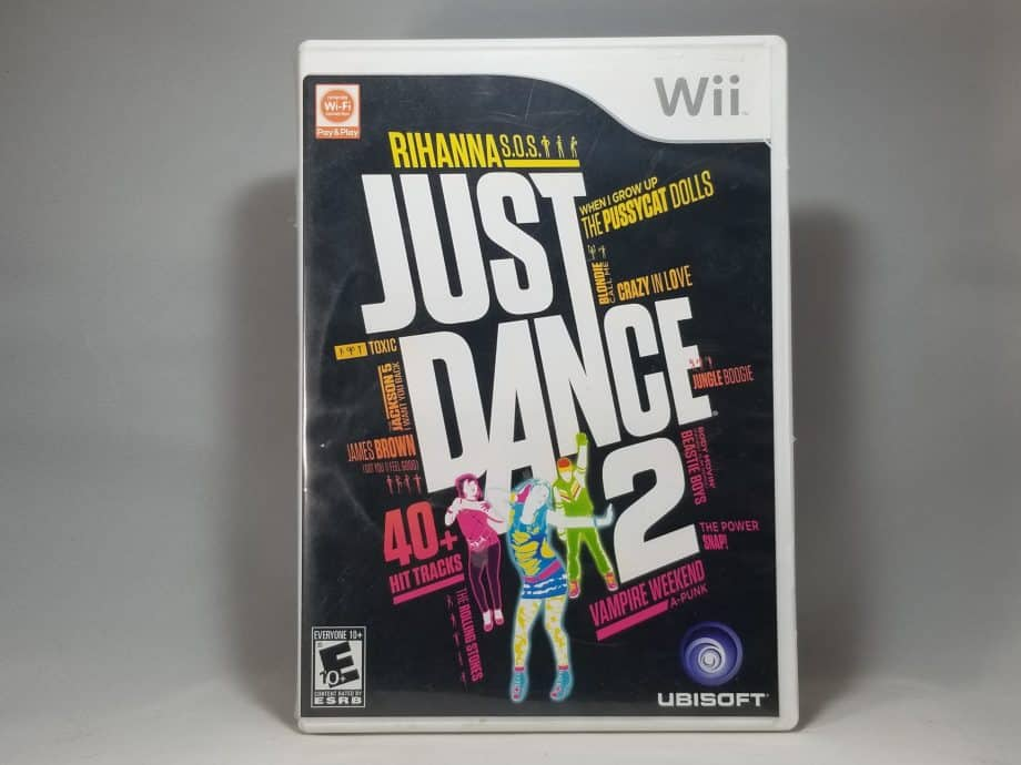 Just Dance 2 Front