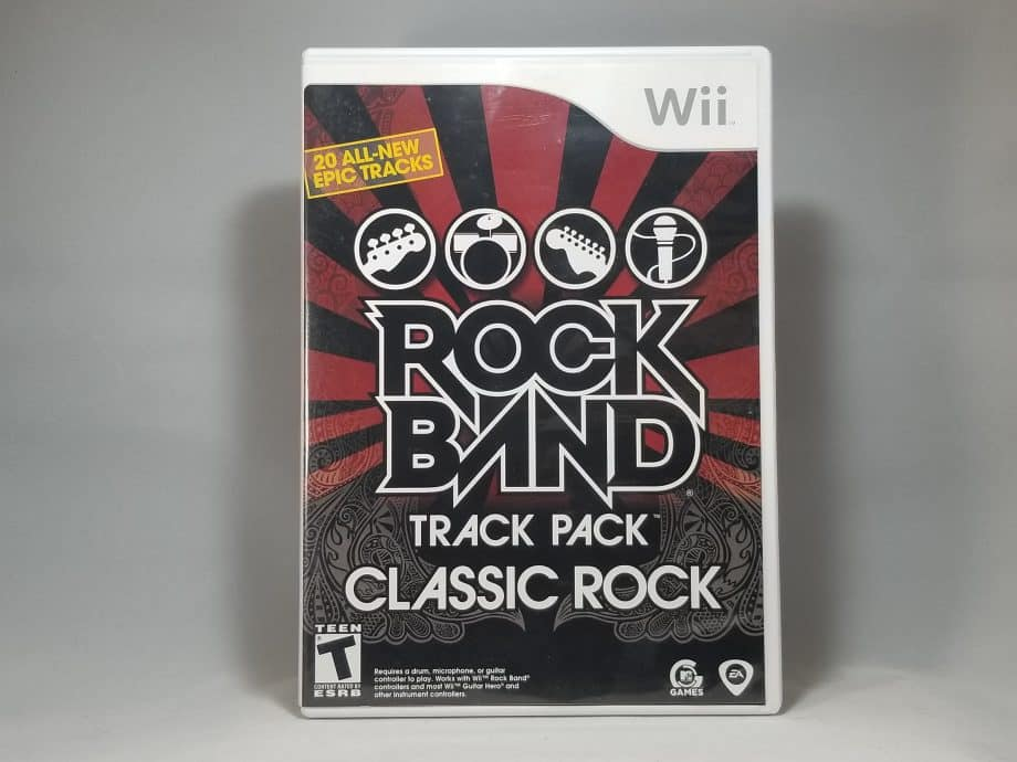 Rock Band Track Pack Classic Rock Front