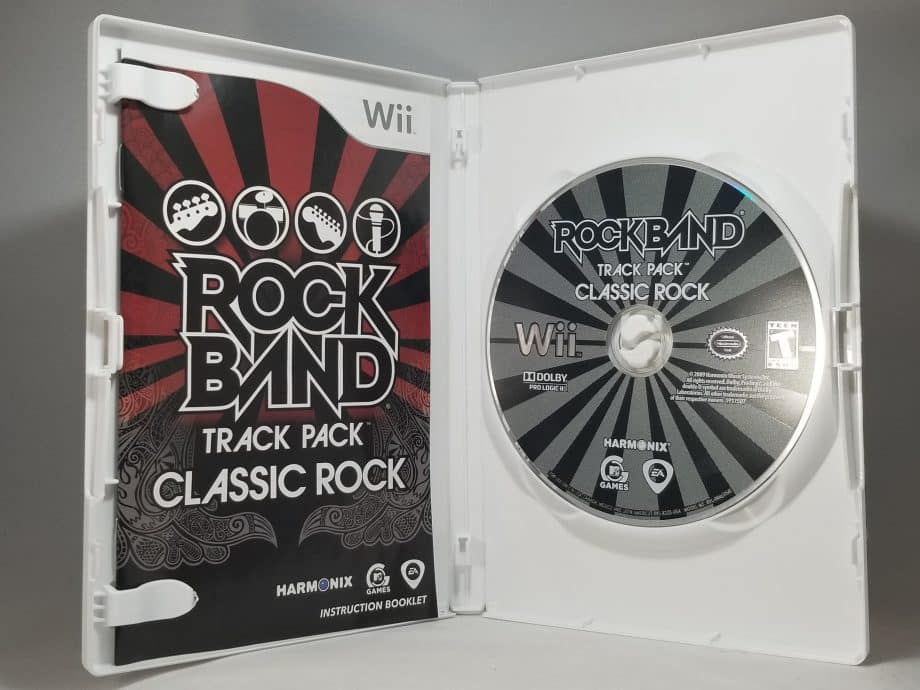 Rock Band Track Pack Classic Rock Disc