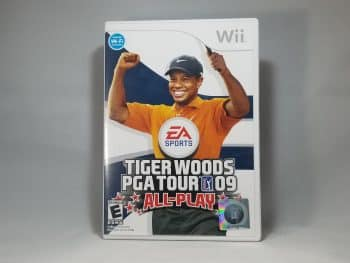 Tiger Woods PGA Tour 09 All Play Front