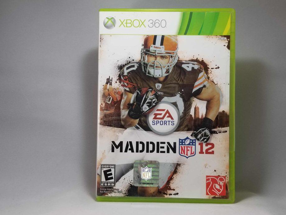 Madden NFL 12 Front