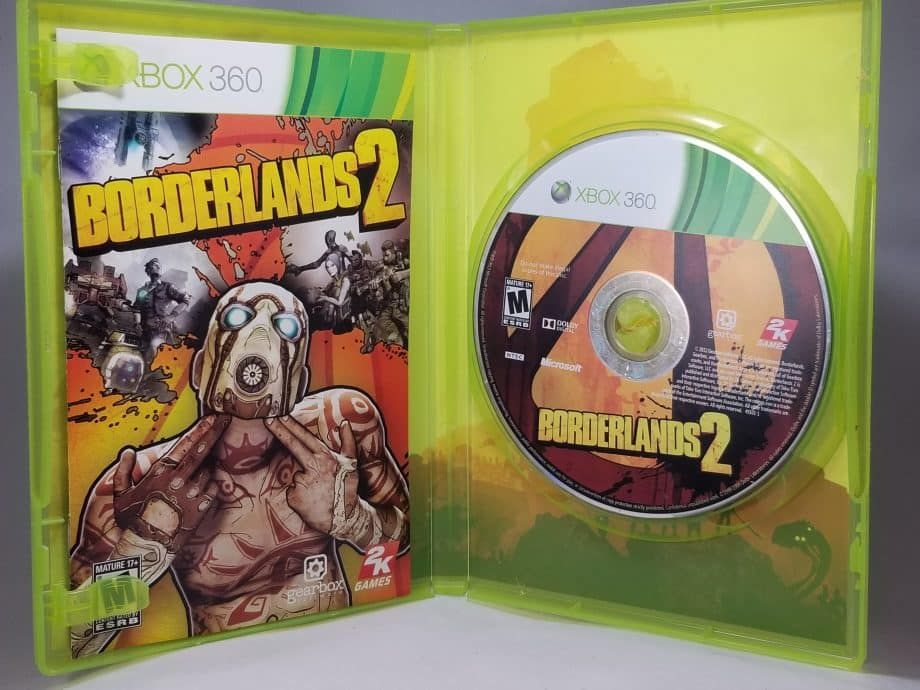 Borderlands 2 Disc