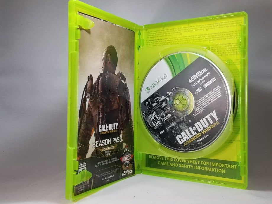 Call Of Duty Advanced Warfare Day Zero Edition Disc 1