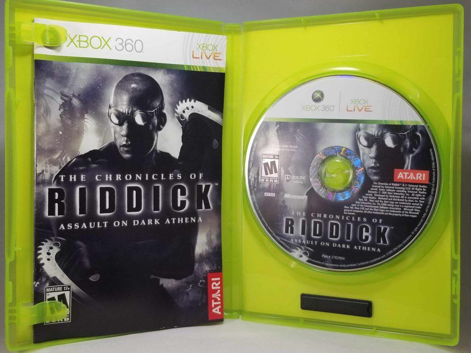 The Chronicles Of Riddick Assault On Dark Athena Disc