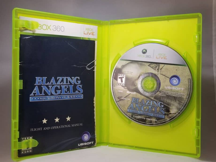 Blazing Angels Squadrons Of WWII Disc