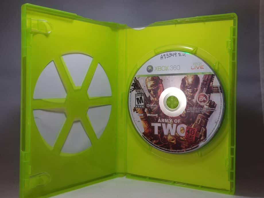 Army Of Two The 40th Day Disc