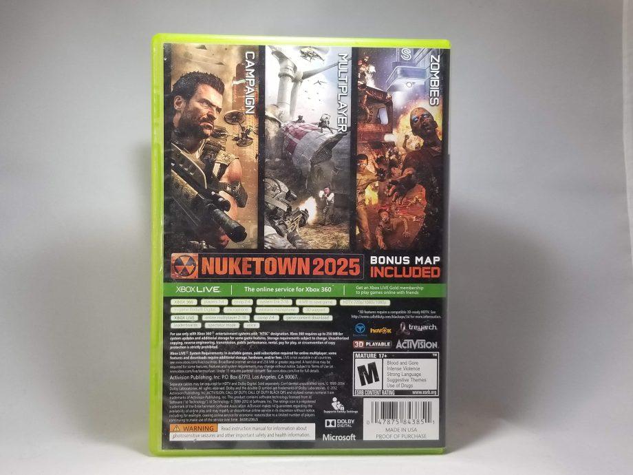 Call Of Duty Black Ops II Back