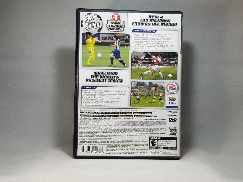 Fifa Soccer 2004 Back
