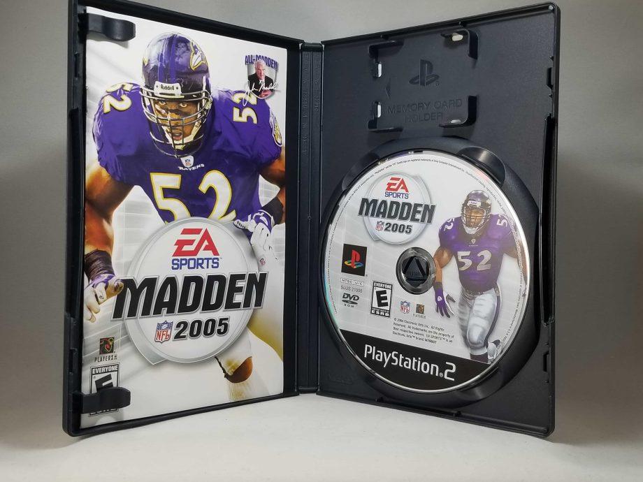 Madden NLF 2005 Disc