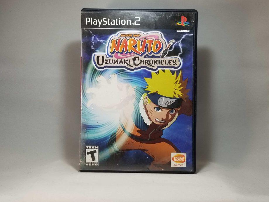 Naruto Uzumaki Chronicles Front