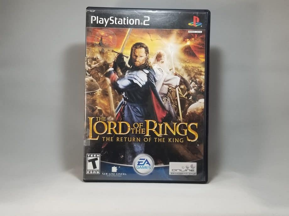 The Lord Of The Rings The Return Of The King Front