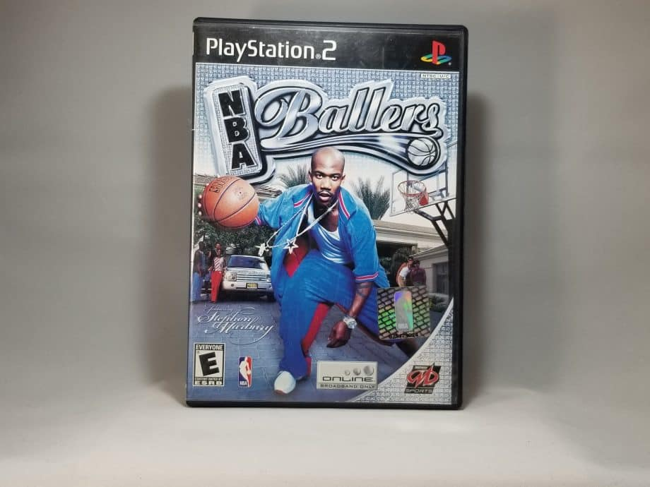 NBA Ballers Front