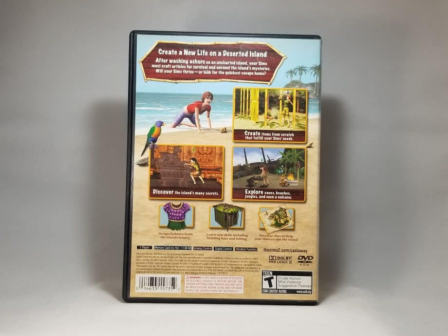 The Sims 2 Castaway Back